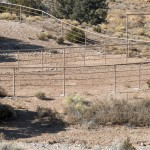 Steel pipe with rails – Acceptable only on horse corral